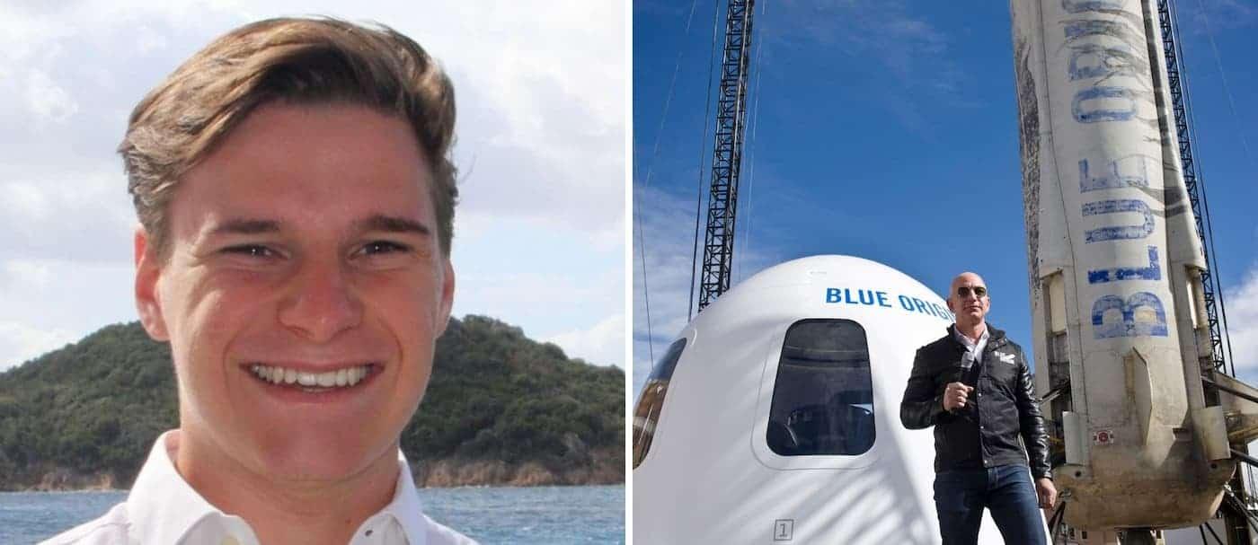 Un joven de 18 años se suma al equipo que viajará al espacio con Jeff Bezos