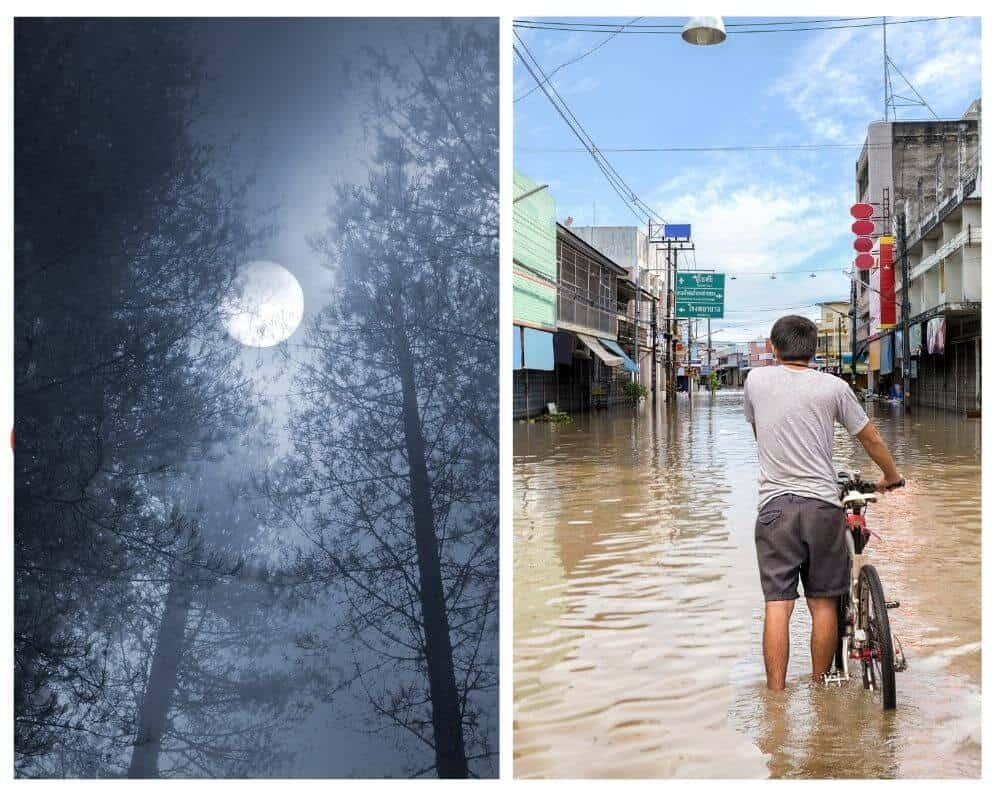 oleada de inundaciones devastadoras