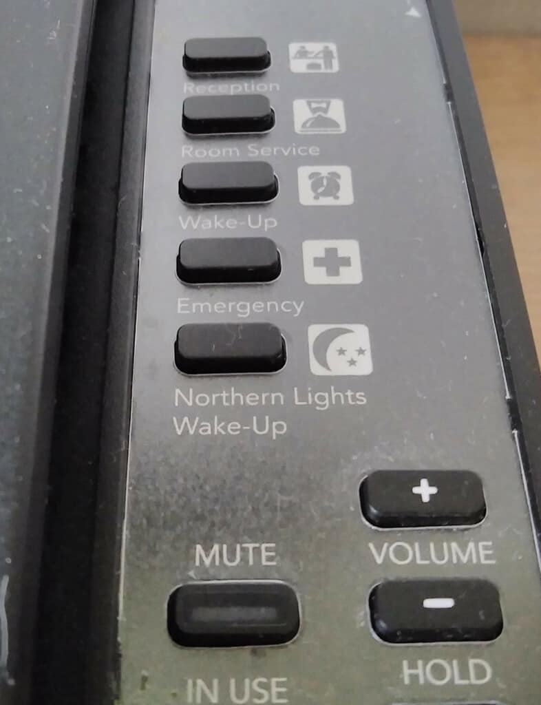 Botón Para Solicitar Que Te Avisen Cuando Hay Auroras Boreales Visibles