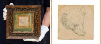 Un pequeño boceto de Leonardo da Vinci fue subastado por más de 12 millones de dólares