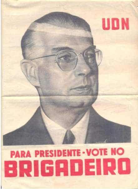 Propaganda De La Campaña De Eduardo Gomes
