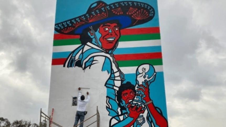 Homenaje A Maradona En México
