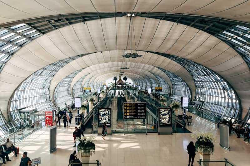 Aeropuerto De Bangkok, Tailandia