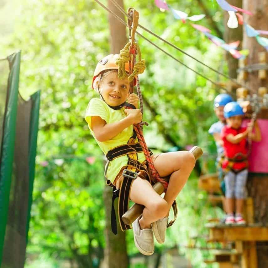 6 Cosas Que Hacer En Villavicencio Park: Canopy Y Tirolesas
