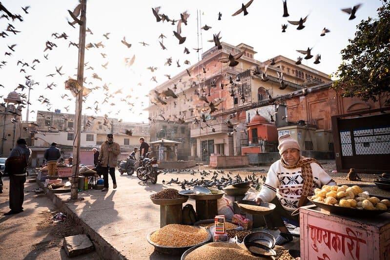 india / vendedor ambulante