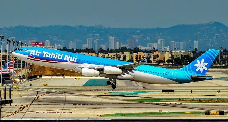 Air Tahiti Nui / avión