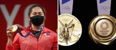 Una pesista de Filipinas ganó la primera medalla de oro para su país en los Juegos Olímpicos Tokio 2020