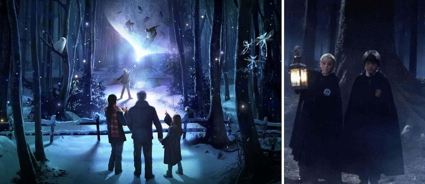 Inglaterra contará con una nueva atracción para fans de Harry Potter, inspirada en el Bosque Prohibido