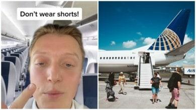 nunca debes usar pantalones cortos