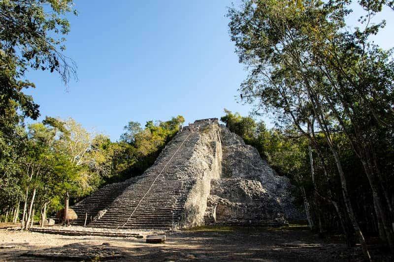 """3. Cobá, Las Ruinas Mayas De La Península De Yucatán, """"Escondidas"""" En Medio De La Jungla"""