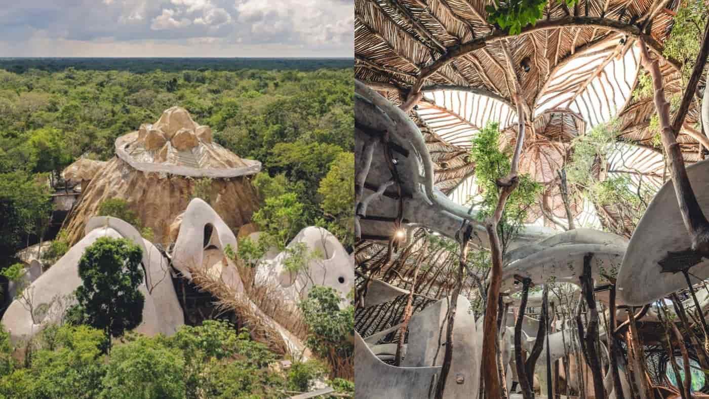 Azulik Uh May: el increíble Centro Holístico en plena selva de Tulum