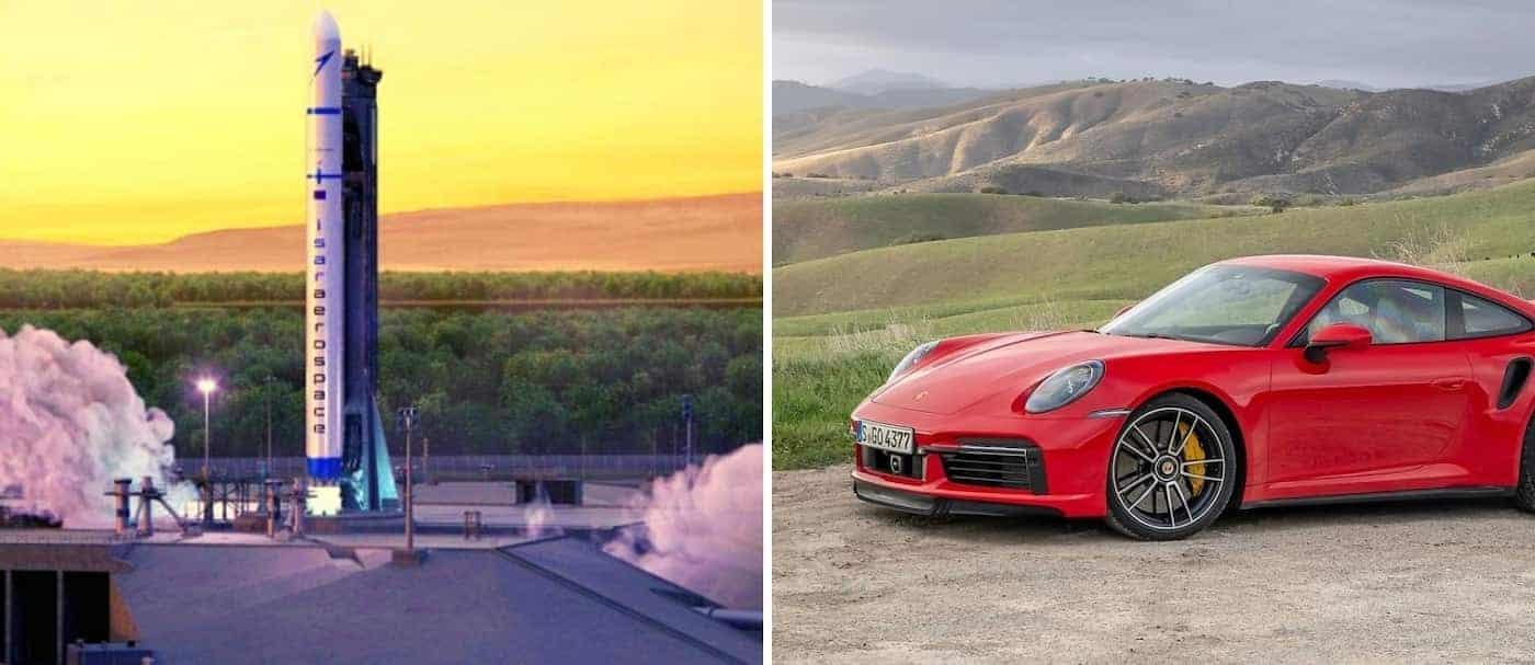 Porsche se suma a la lista de empresas invierten en tecnología espacial para la creación de cohetes y satélites