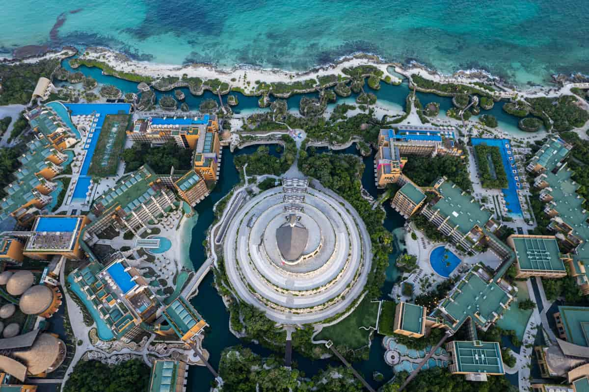 Hotel Xcaret Arte Drone
