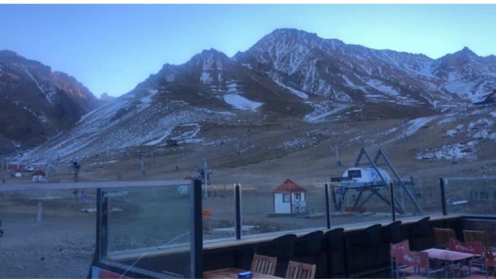 Falta De Nieve En Los Centros De Esquí De La Patagonia