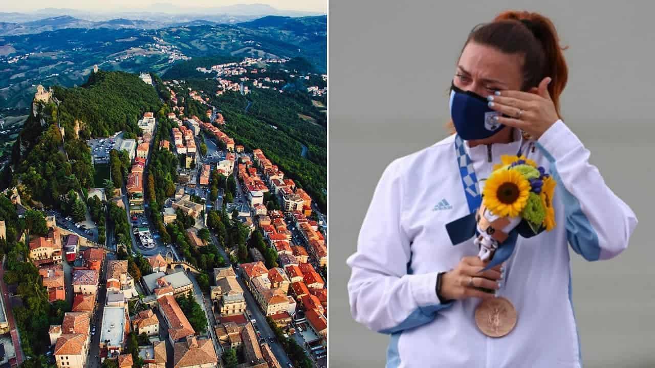 San Marino se convierte en el país más pequeño del mundo en ganar una medalla olímpica