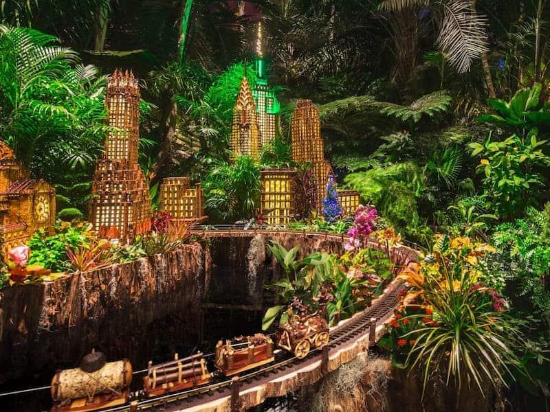 Holiday Show Train - Jardín Botánico De Nueva York