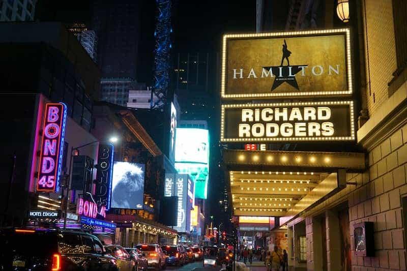 Teatro De Broadway - Cartelera: Hamilton