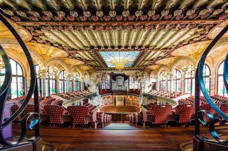 Cosas Para Hacer En Barcelona En 2 Días - Palau De La Música Catalana