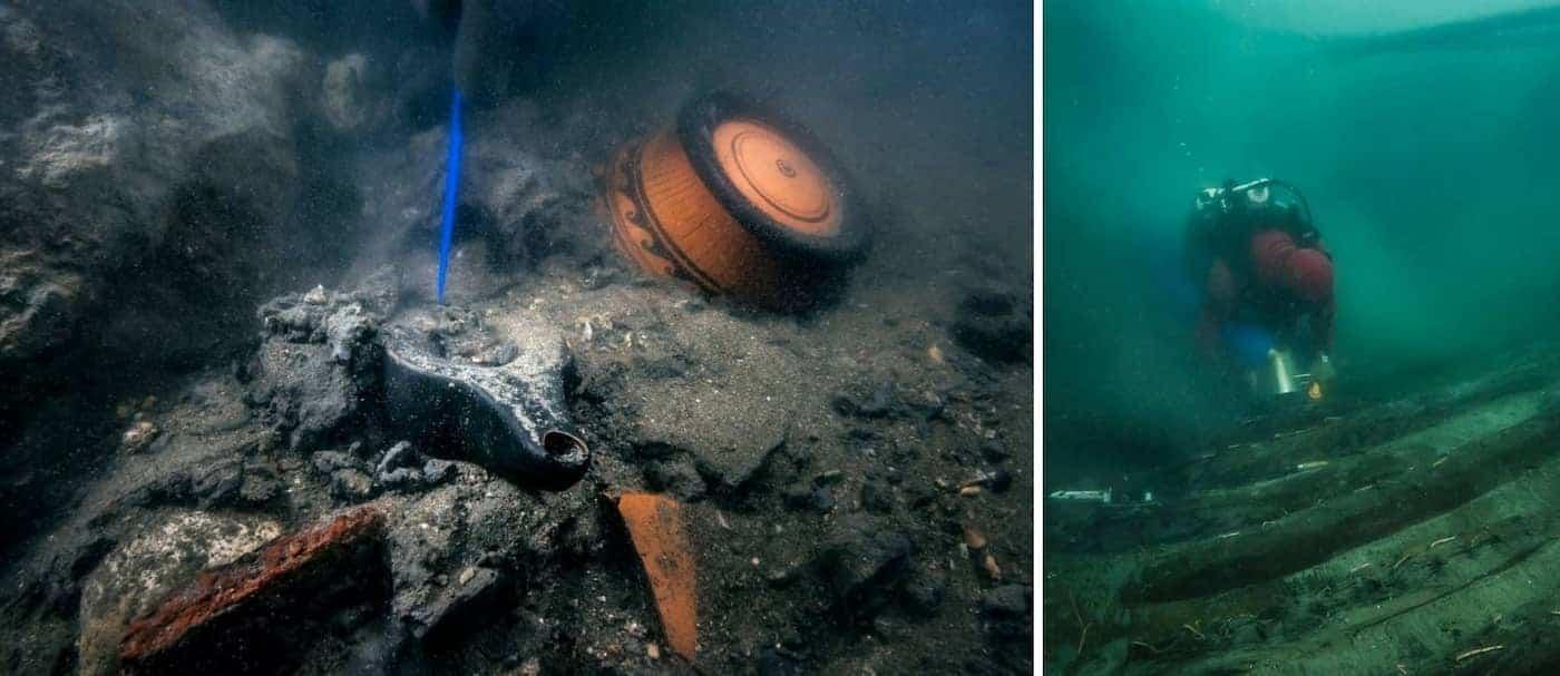 Encuentran tesoros arqueológicos de hace más de 2.000 años en una antigua ciudad egipcia hundida
