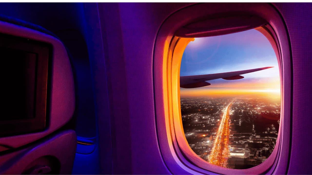 Por qué las ventanas de los aviones son redondas y no cuadradas