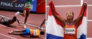 Sifan Hassan: la atleta que se cayó, se levantó y ganó dos medallas de oro en los Juegos Olímpicos de Tokio 2020