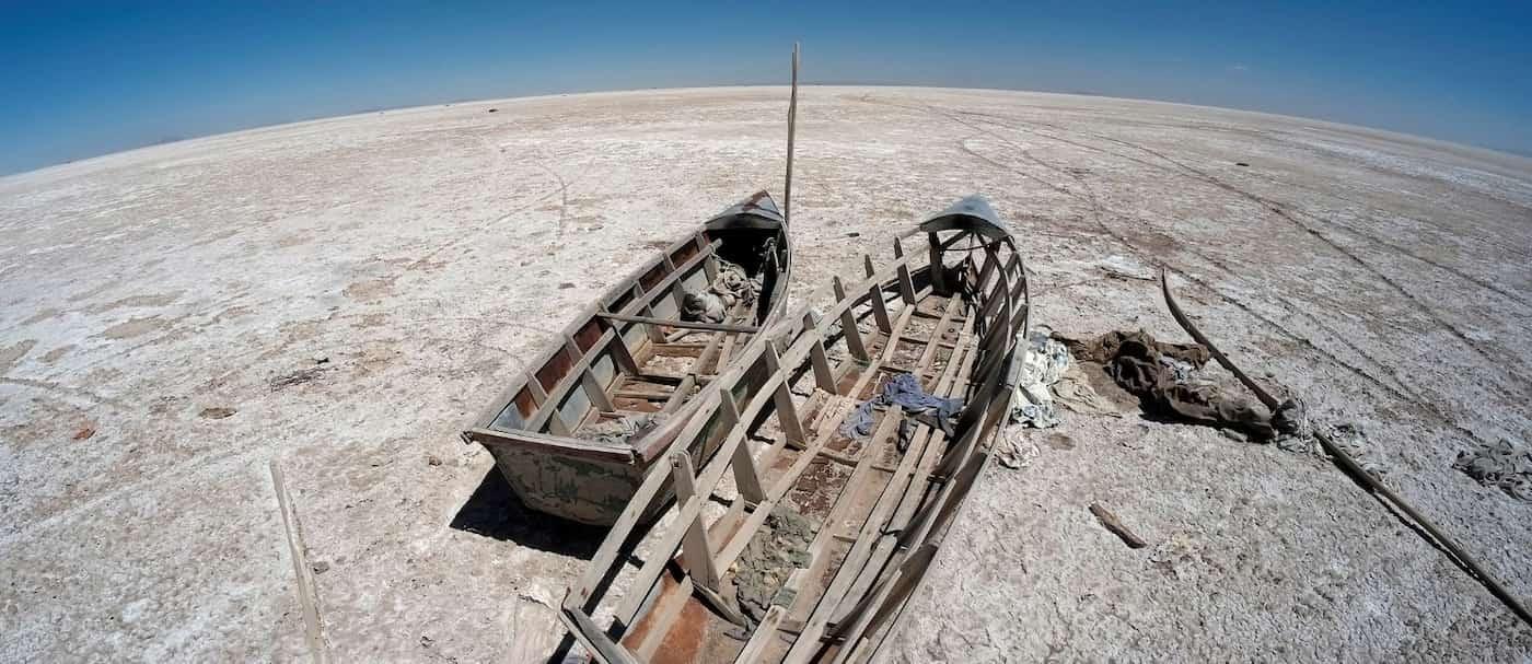 Se seca el segundo lago más grande de Bolivia y los científicos no creen que pueda recuperarse