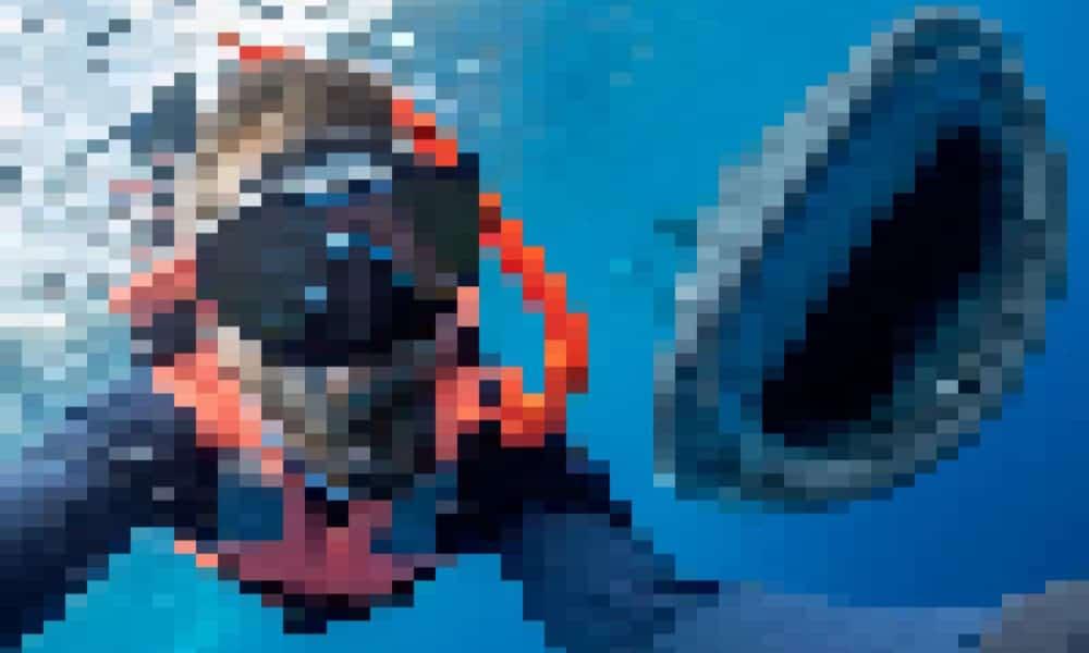 portada tiburon pixelada