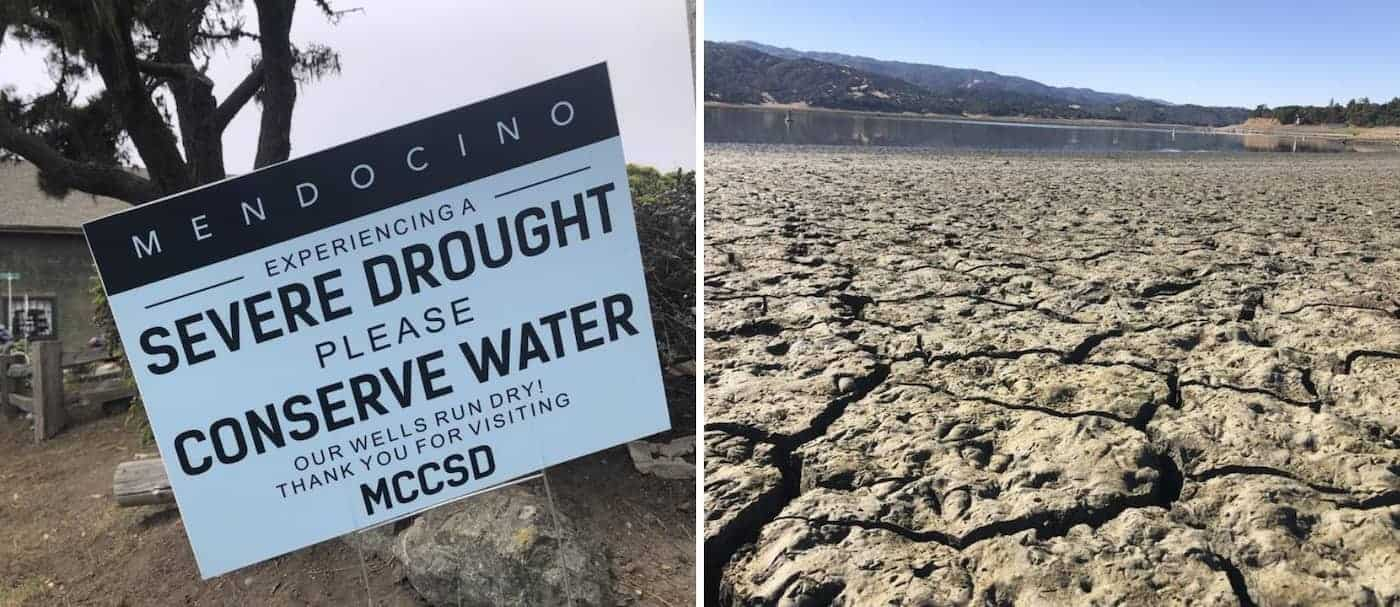 Un pueblo de California pide por favor que cuiden el agua frente a la extrema sequía