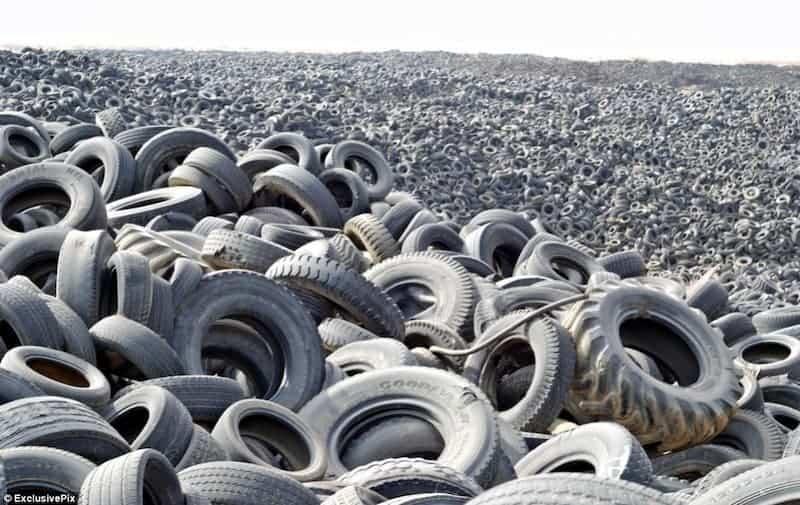 Cementerio De Neumáticos De Kuwait