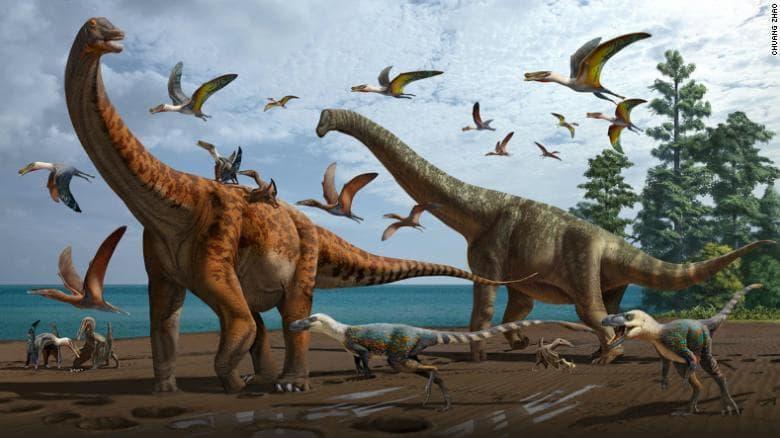 Nuevas Especies De Dinosaurios En China