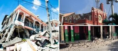 Un terremoto de magnitud 7.2 ocurrió en Haití