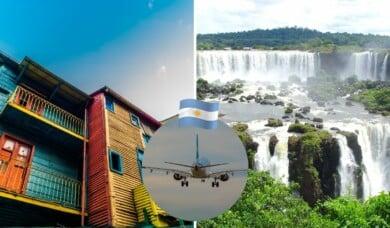 vuelos gratis a argentina