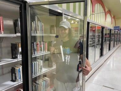 librería - supermercado