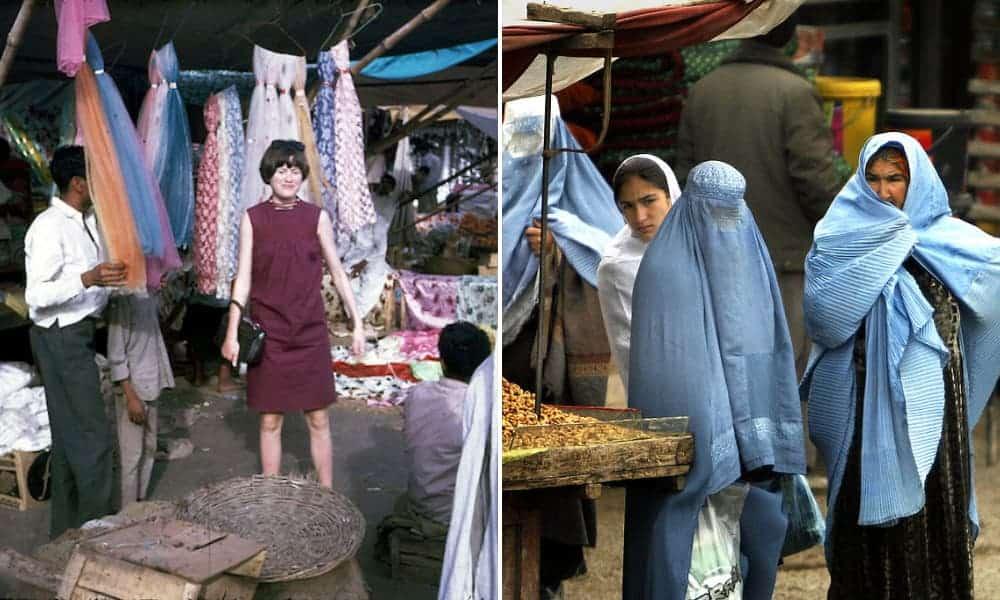 [FOTOS] Cómo era Afganistán antes de la llegada de y cómo fue el impacto de las 29 reglas hacia las mujeres