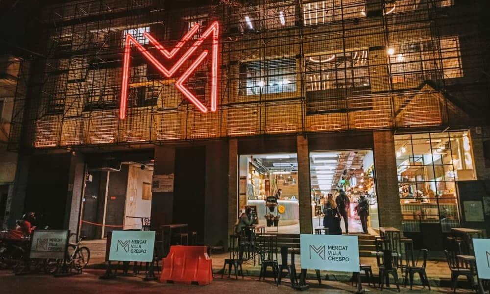 Mercat Villa Crespo, mercado gastronómico