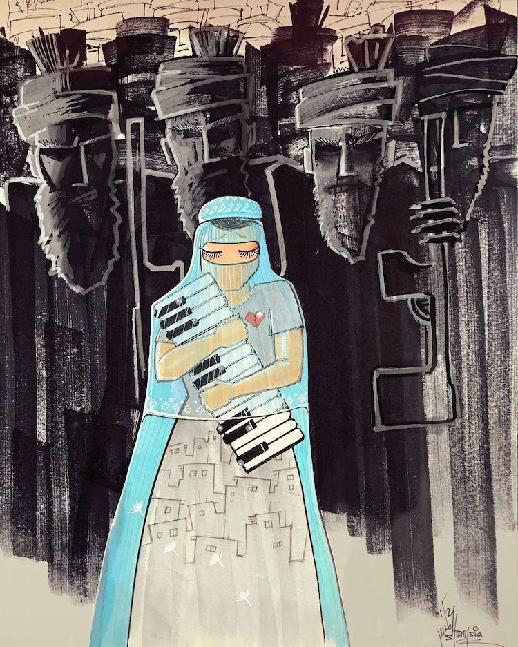 Artista Urbana De Afganistán