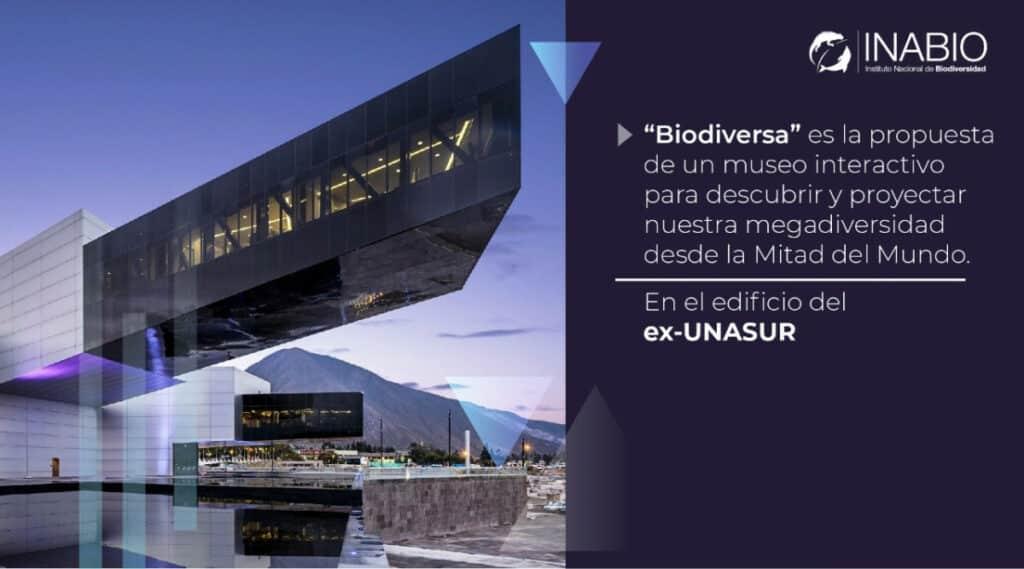 Ecuador Se Prepara Para Abrir &Quot;Biodiversa&Quot;, Uno De Los Mayores Museos De Biodiversidad Del Mundo