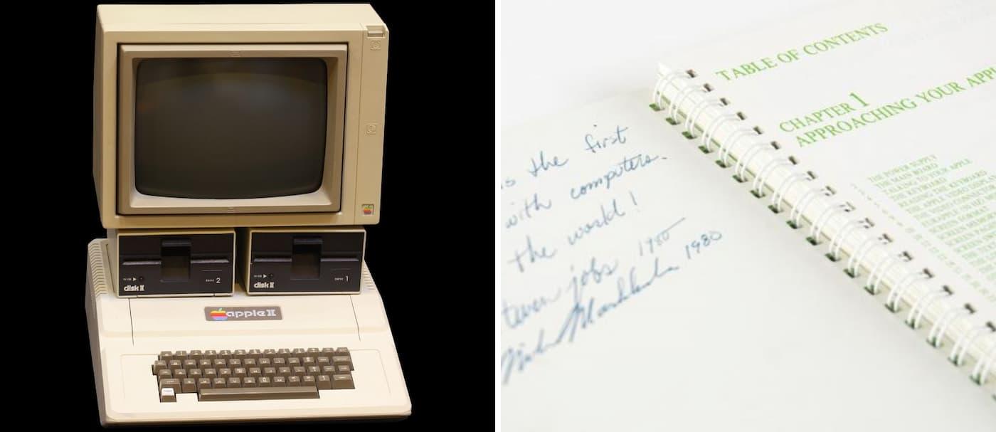 Se vendió un manual de Apple II por casi 800.000 dólares