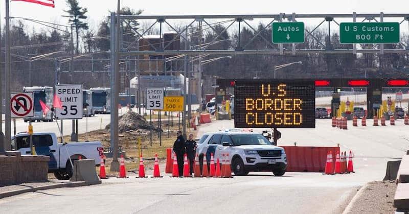 Fronteras Terrestres De Estados Unidos