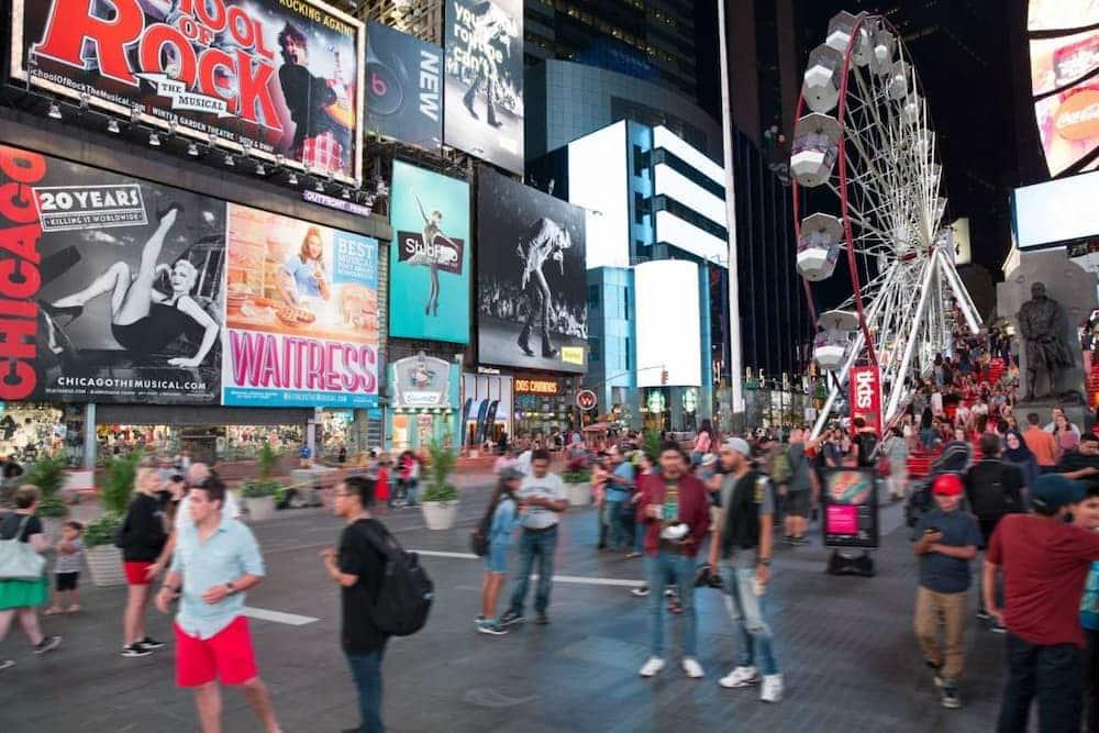 vuelta al mundo nueva york