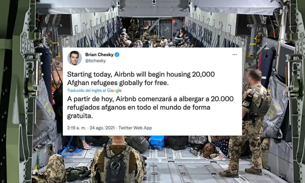 Airbnb albergará a 20.000 refugiados de Afganistán de manera gratuita y en todo el mundo-1