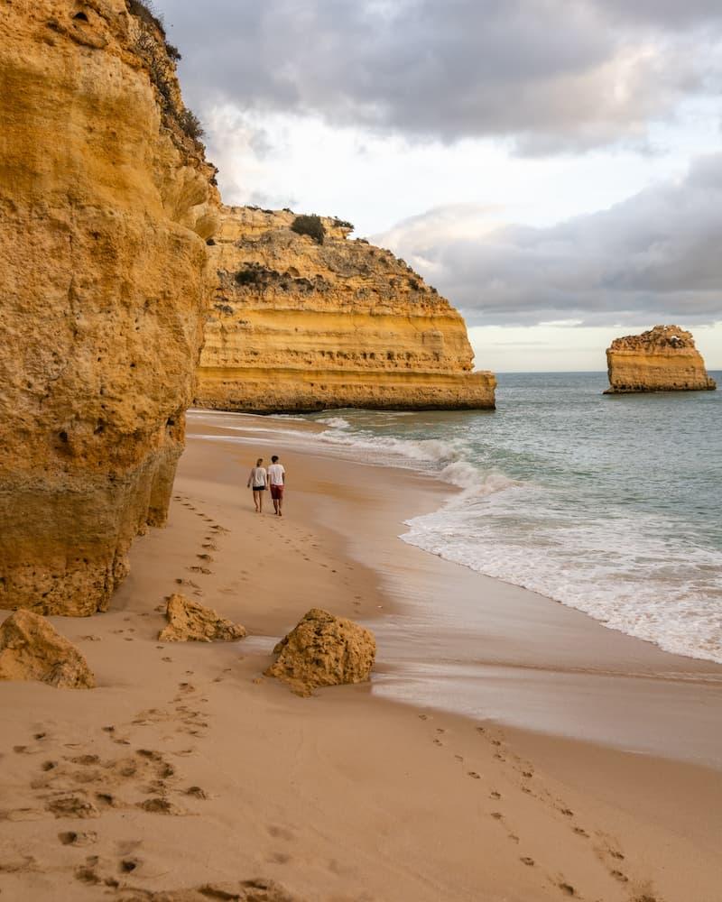 Mejores Playas De Portugal: Praia Da Marinha