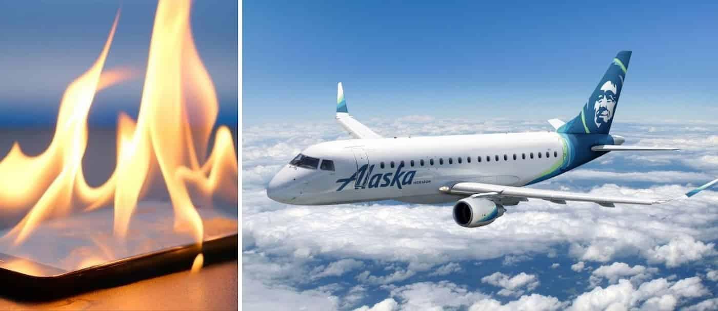 Una aerolínea debió evacuar uno de sus vuelos porque se incendió un celular