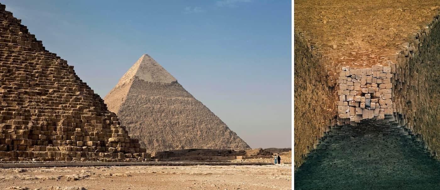 Un fotógrafo tomó imágenes de las pirámides de Egipto como nunca antes