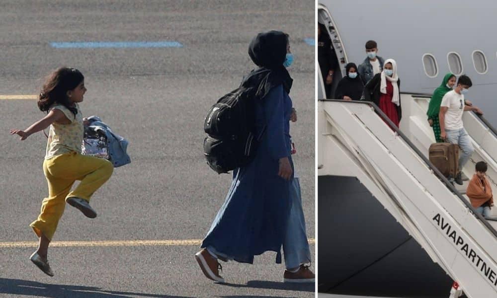 niña afgana en bélgica