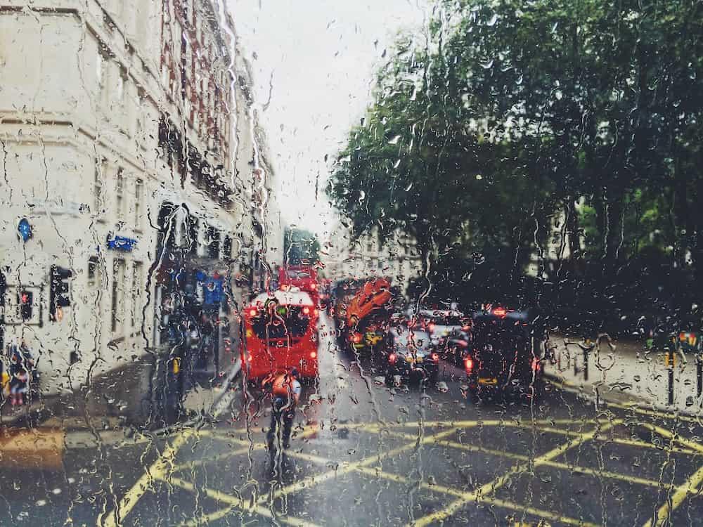 Londres con Lluvia