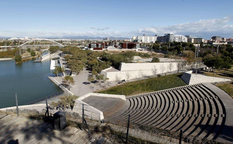 Parque De Cabecera - Jardín Del Turia