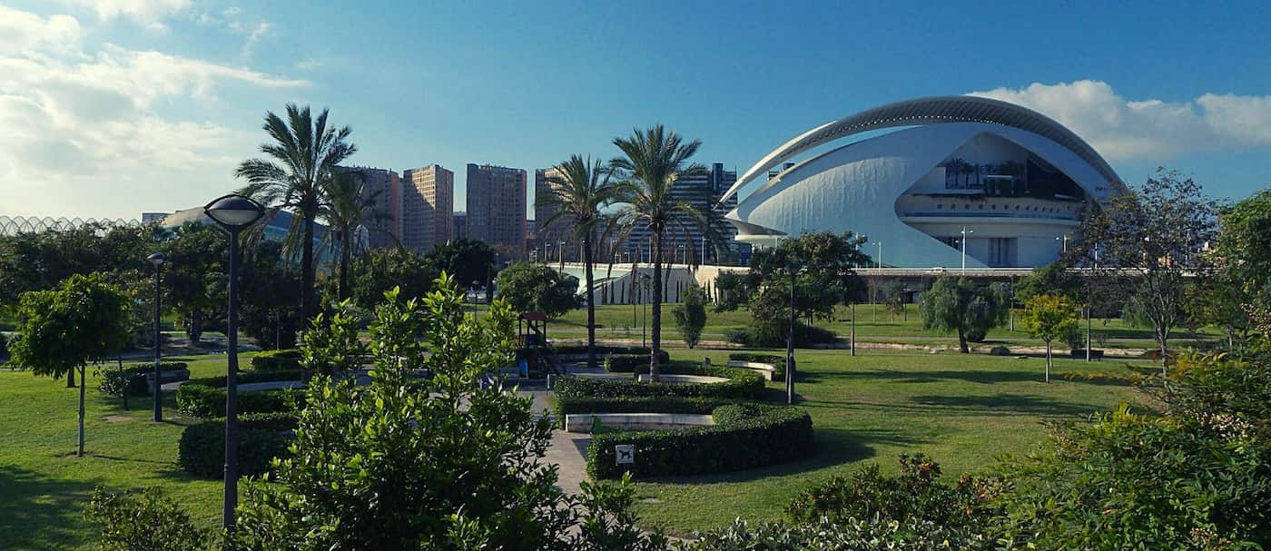 Turia Garden, Valencia