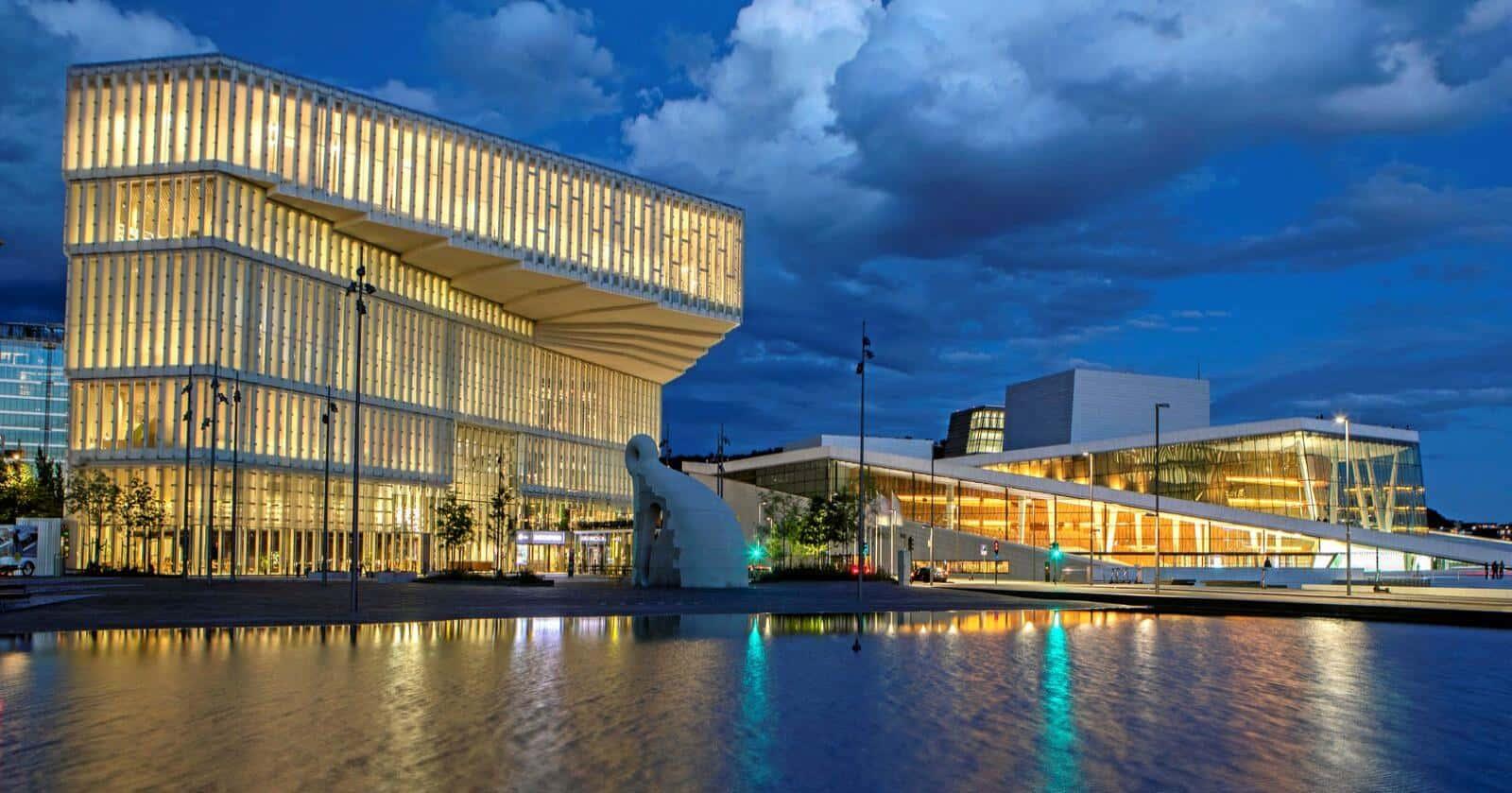 Deichman Bjørvika ha sido distinguida como la mejor biblioteca pública del mundo de 2021-99