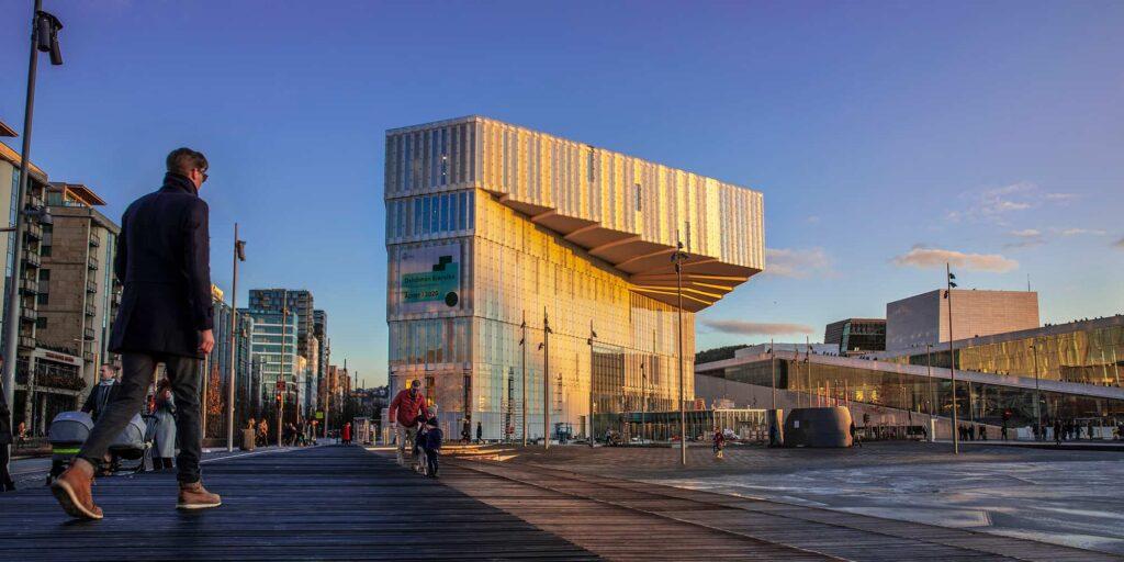 Deichman Bjørvika Ha Sido Distinguida Como La Mejor Biblioteca Pública Del Mundo De 2021